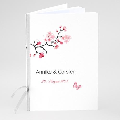 Hochzeitseinladungen modern - Kirschblüten 23010