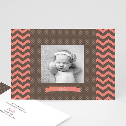 Geburtskarten für Mädchen - Pünktchen 23037