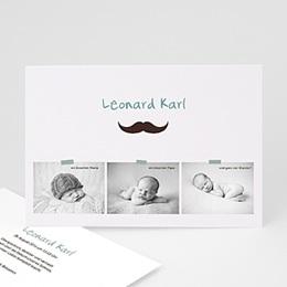Babykarten für Jungen - Kleiner Mann - 1