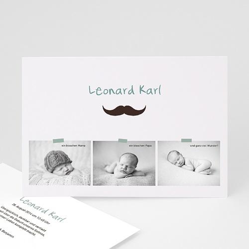 Babykarten für Jungen - Kleiner Mann 23046