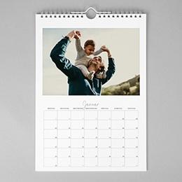 Wandkalender 2017 - Calendrier jours personnalisés - 1