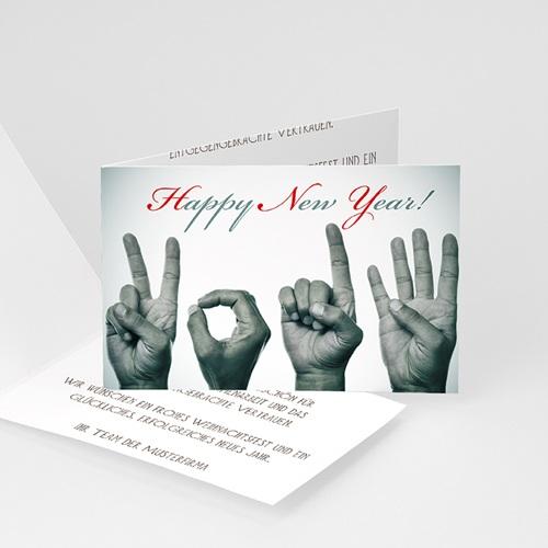 Weihnachtskarten - Hände 23430