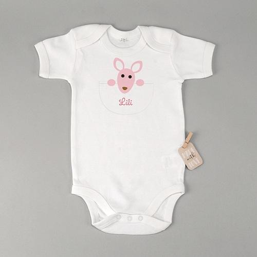 Babybody - Känguru Mädchen 23576