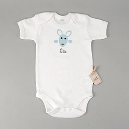 Babybody - Geburtskarte Känguru - 1