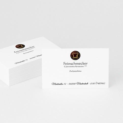 Visitenkarten - Feinschmecker 2360