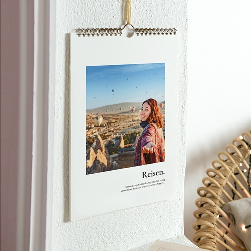 Wandkalender 2017 - Reisende 23609