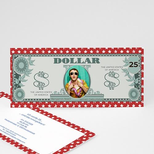 Runde Geburtstage - Dollarschein 23646