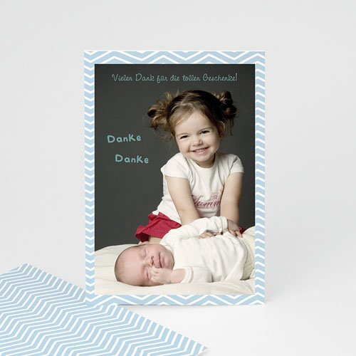Dankeskarten Geburt Mädchen - Grosse Schwester 23664
