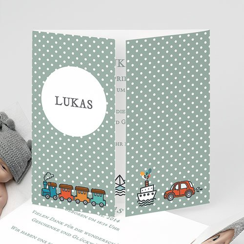 Babykarten für Jungen - Unser Schatz 23673
