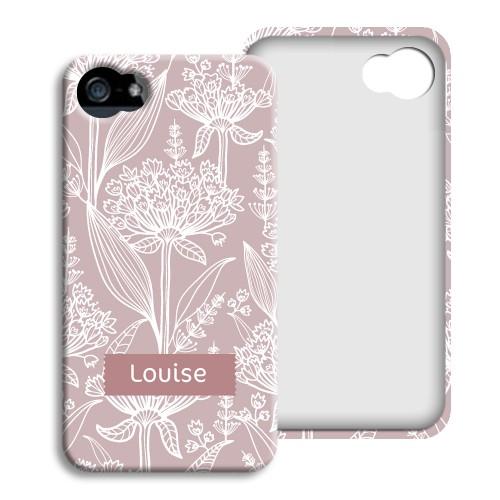 iPhone Cover NEU - Pastell mit Blumenmotiv 23833