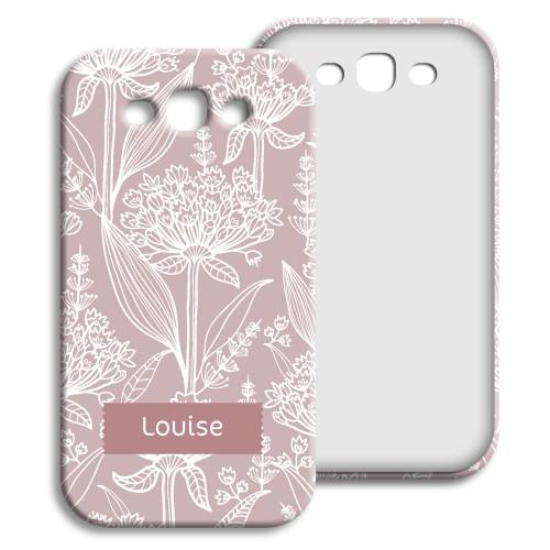 Case Samsung Galaxy S3 - Pastell mit Blumenmotiv 23839