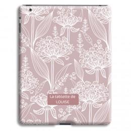 Case iPad 2 - Pastell mit Blumenmotiv - 1