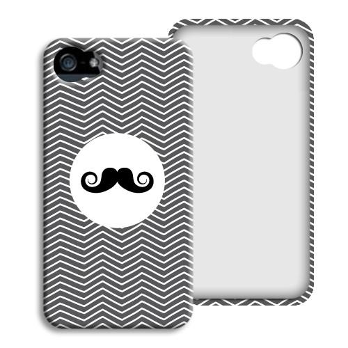 iPhone Cover NEU - Monsieur schwarz-weiss 23848