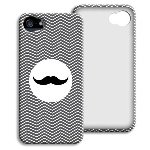Case iPhone 5/5S - Monsieur schwarz-weiss 23851