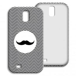 Case Samsung Galaxy S4 - Monsieur schwarz-weiss - 1