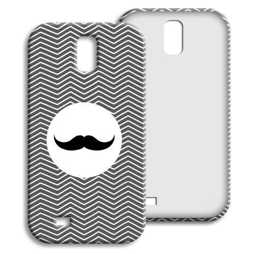 Case Samsung Galaxy S4 - Monsieur schwarz-weiss 23857