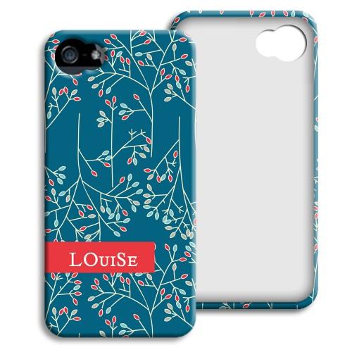 Case iPhone 5/5S - Weihnachtsblumen 23866