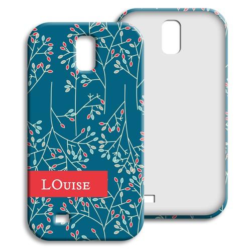Case Samsung Galaxy S4 - Weihnachtsblumen 23872