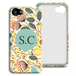 Case iPhone 5/5S - Blumenfeld - 1