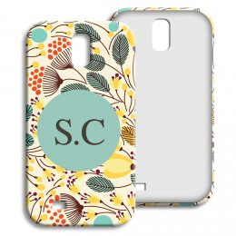 Case Samsung Galaxy S4 - Blumenfeld - 1
