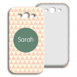 Case Samsung Galaxy S3 - Zickzackmuster rosa - 1