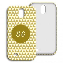 Case Samsung Galaxy S4 - Lindgrünes Muster - 1