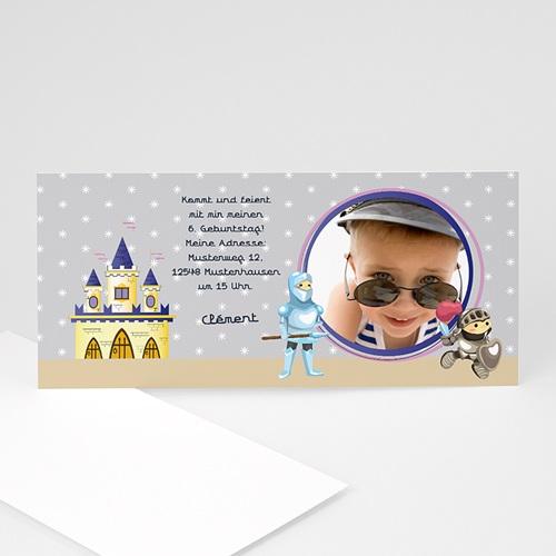 Geburtstagseinladungen Jungen - Reiter 2398