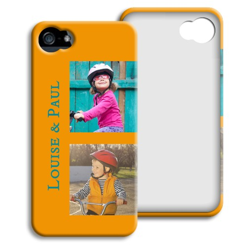 Case iPhone 5/5S - Souvenirs - Gelb 23997