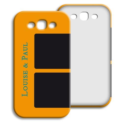 Case Samsung Galaxy S3 - Souvenirs - Gelb 24001