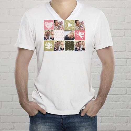 Tee-Shirt  - T-Shirt Collage zum Valentinstag 2436