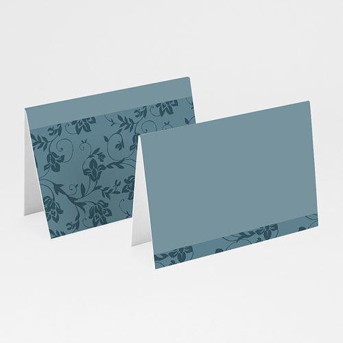 Tischkarten Taufe - Aqua 24524