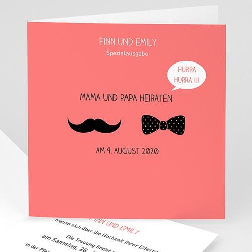 Hochzeitseinladungen modern - Elegant 24612