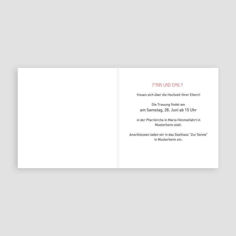 Hochzeitseinladungen modern - Elegant  Carteland.de