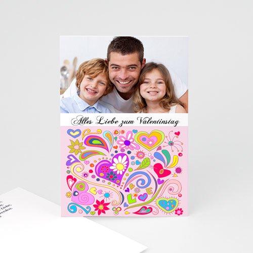 Karten zum Valentinstag - Liebesglück 2474