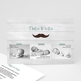Babykarten für Jungen - Misters - jumeaux - 1