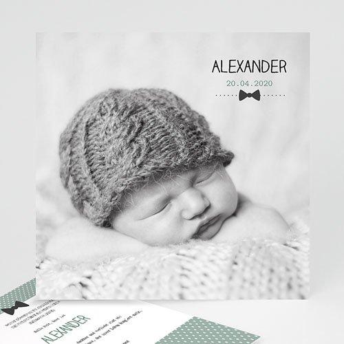 Babykarten für Jungen - Fliege im Trend 24839