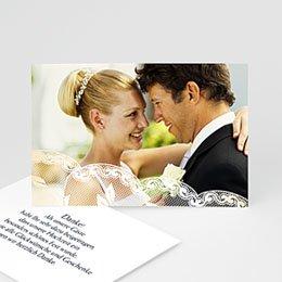 Danksagungskarten Hochzeit  - Romantisch - 1