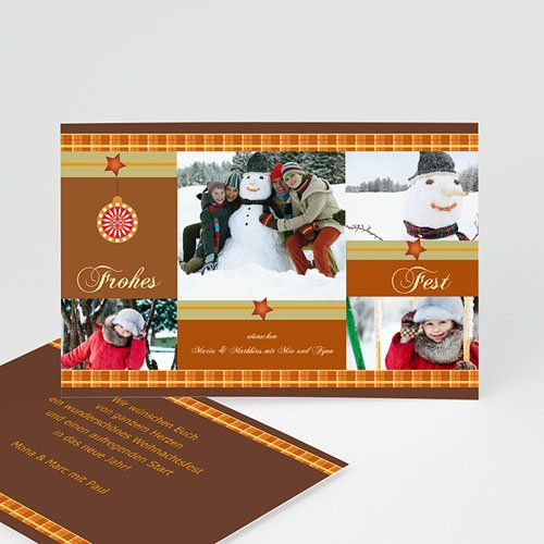 Weihnachtskarten - Weihnachtskarte 17 2620