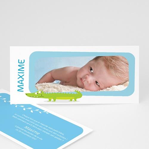 Babykarten für Jungen - Kasimir, das Krokodil 2664
