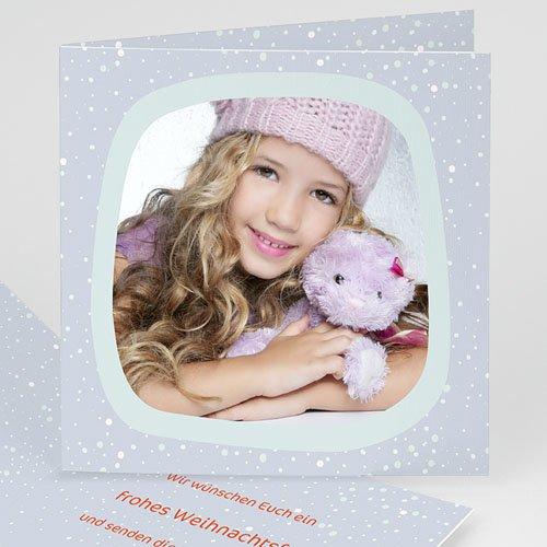 Weihnachtskarten - Weihnachtskarte Winternacht 2684
