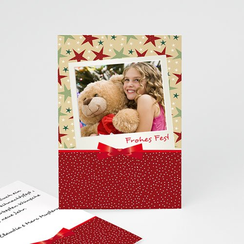 Weihnachtskarten - Weihnachtskarte Dekoration 2692