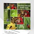 Weihnachtskarte Patchwork - 1