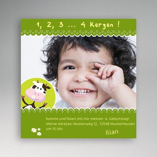 Geburtstagseinladungen Jungen - Geburtstagskarte 1 2826