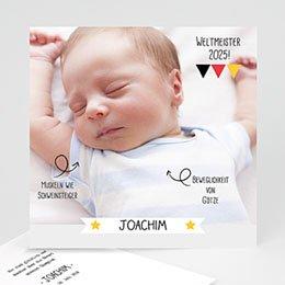Babykarten für Jungen - Weltmeister - 1