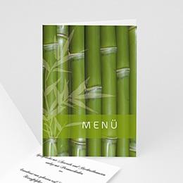 Menükarten Hochzeit  - Hochzeitskarte - 1