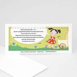 Babykarten für Jungen - Kindergeburtstag Jana - 1