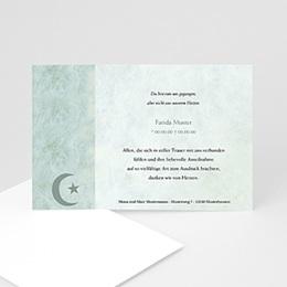 Trauer Danksagung muslimisch - Yasin - 1