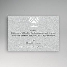 Trauer Danksagung israelitisch - In Übereinstimmung mit Gott - 1