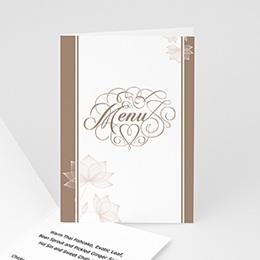 Menükarten Hochzeit  - Hochzeitskarte Berlin - 1