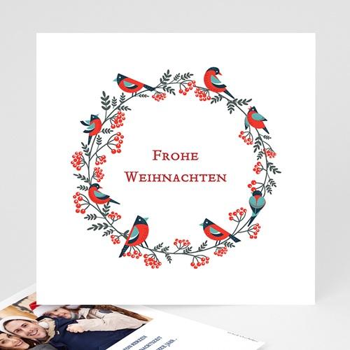 Weihnachtskarten - Adventskranz 35034